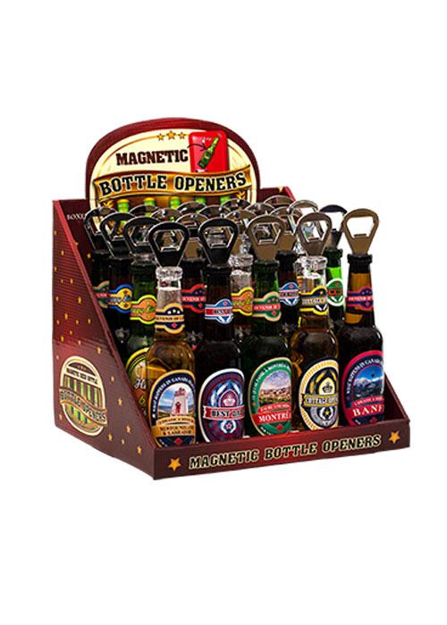 Beer Bottle Display holds 20 bottles