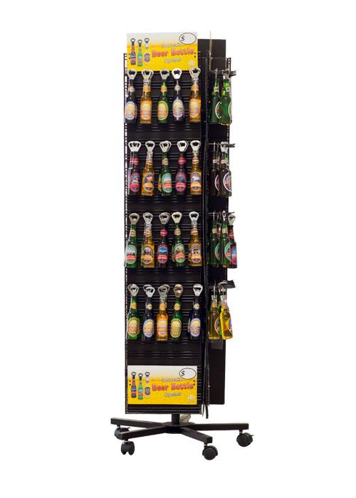 Souvenir Beer Bottles Display from Danbar Distribution