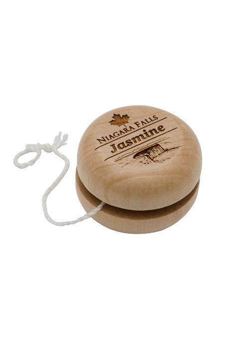 Maple Engraved Yo-Yo from Danbar Distribution
