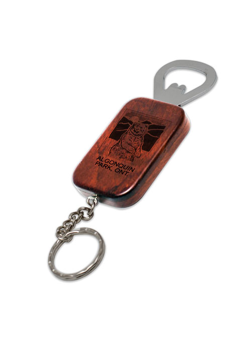 Rectangle Opener and Keychain from Danbar Distribution