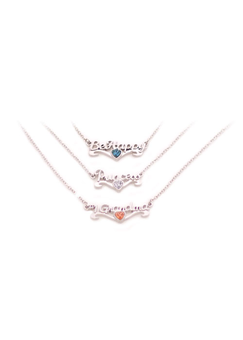 Personalized Scriptz Necklace from Danbar Distribution