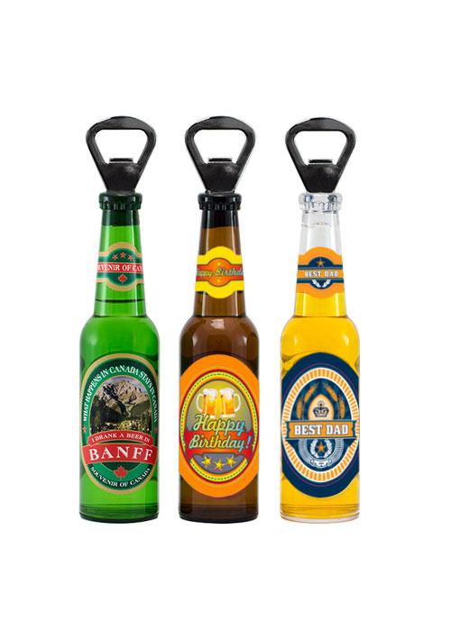Customized Souvenir Beer Bottle Opener from Danbar Distribution