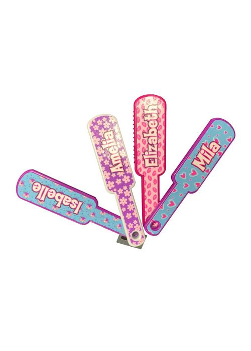 Personalized Glitter Hairbrush